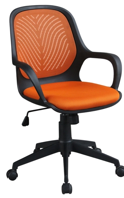 Hot Selling High Quality Popular Wine Red Plastic Frame Office Chair