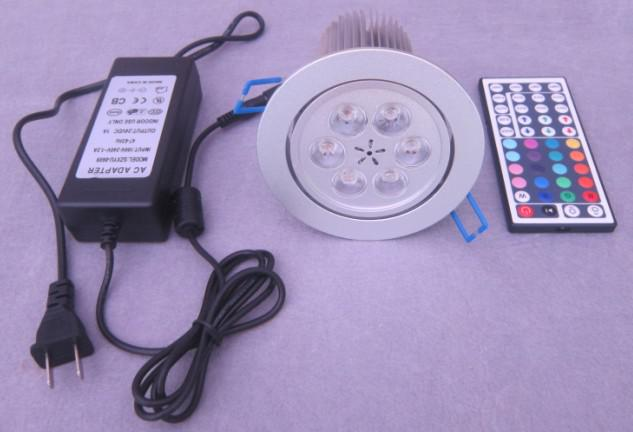 LED Downlight IR RGB Low-voltage 6*3 W