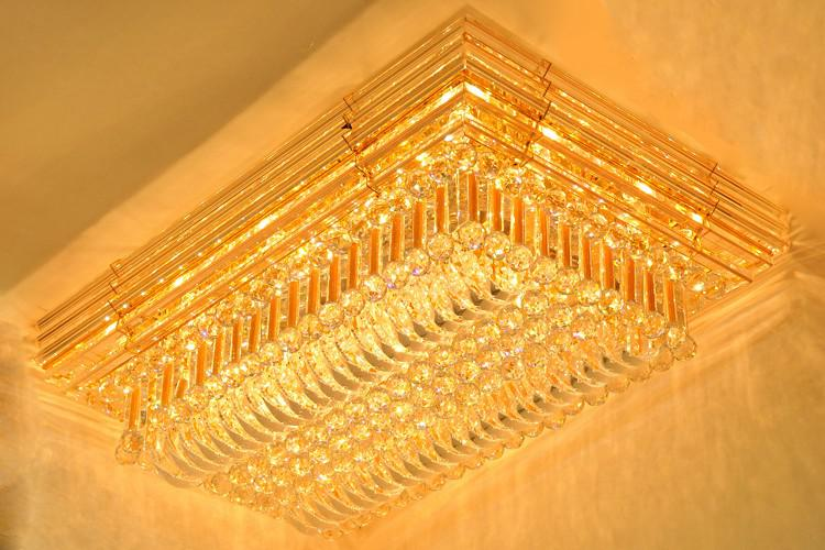 Crystal Ceiling Light Pendant Lights Classic Golden Ceiling Pendant Light 1100*710
