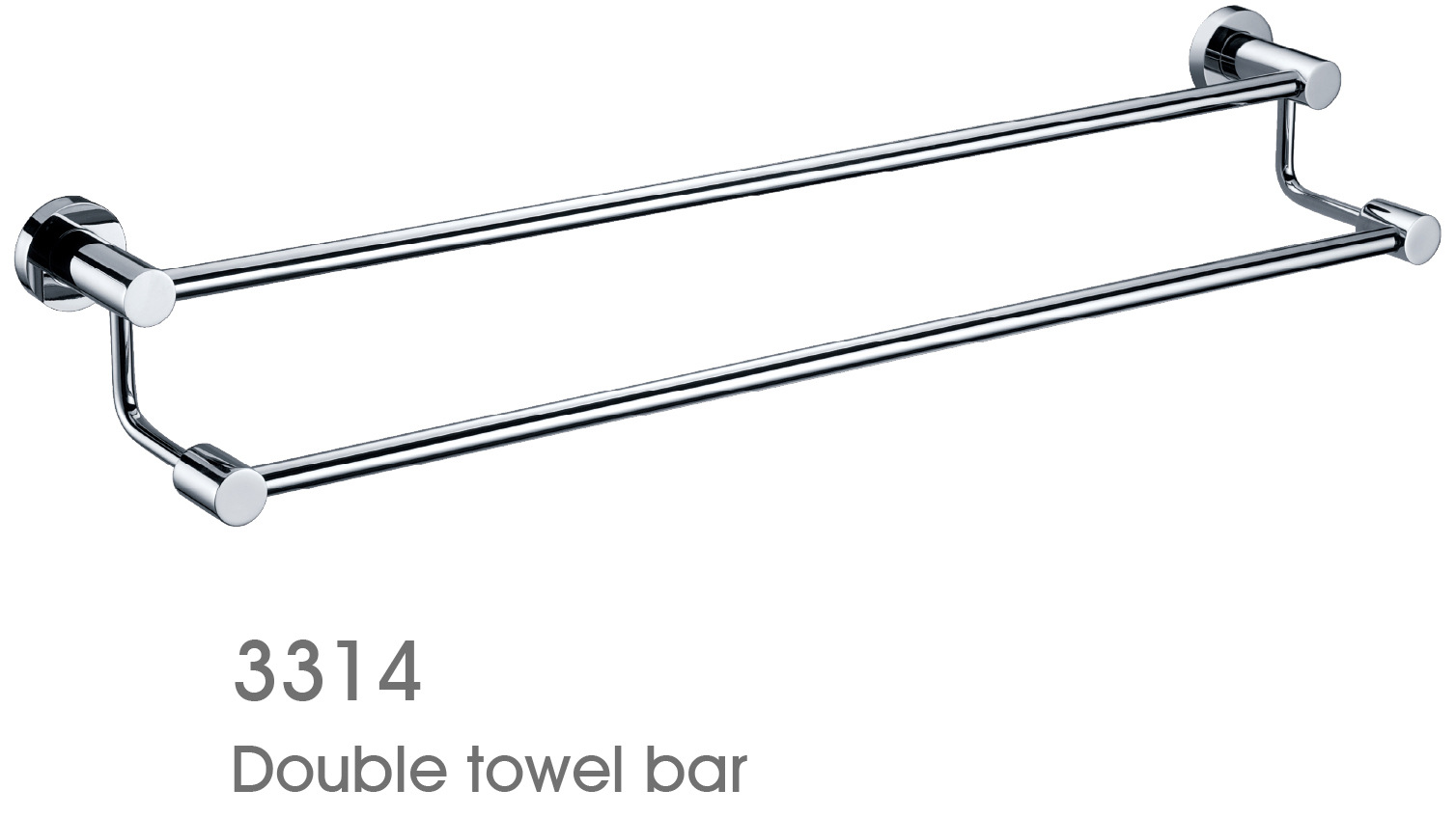Solid Brass Bathroom Accessories Towel Bar