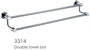 Solid Brass Bathroom Accessories Towel Bar