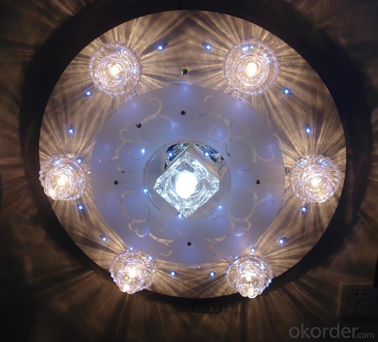 Living Room Light Type 1 D550MM LED Crystal Ceiling Light Pendant Lights Classic Ceiling Pendant Light