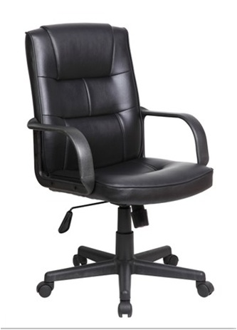 Modern style PU Office Chair/ 270mm Nylon Base/PP Armrests/Butterfly tilt/Office Furniture