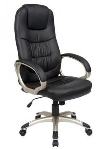 Modern style PU Office Chair/350mm Nylon Powder Coated/Butterfly tilt/Office Furniture
