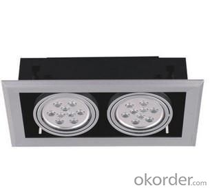 LED Downlight 2pcs 9*1 W