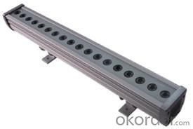 LED Wall Washer Single Color IP65 18*3W