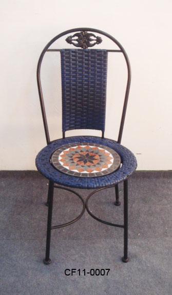 Rattan Antique Pattern Outdoor Garden Furniture Chair
