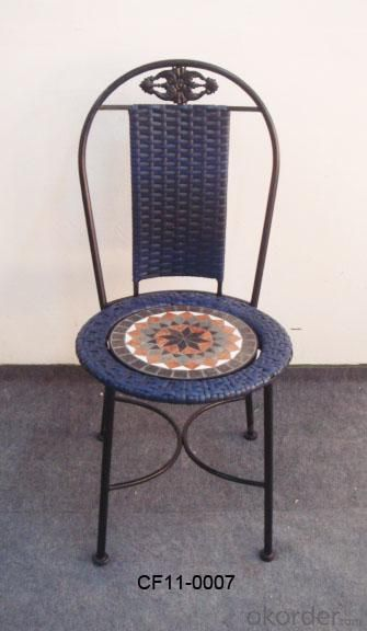 Rattan Antique Pattern Outdoor Garden Furniture Chair