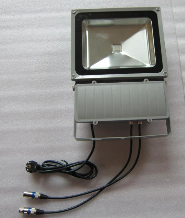 LED RGB Flood Light COB Internal DMX High Brightness IP 65 90W
