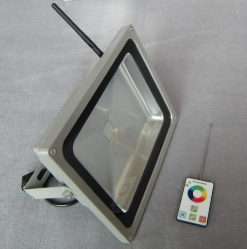 LED RF RGB Flood Light High Brightness IP 65 60W