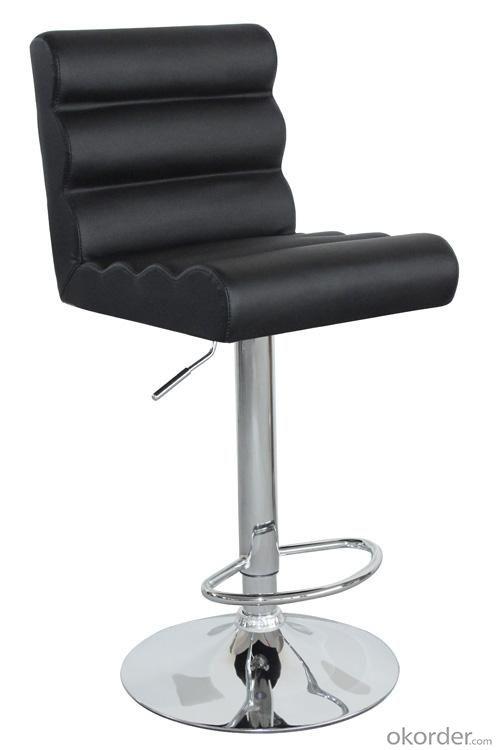 Hot Selling High Quality Comfortable Black The Bulging Bar Stool
