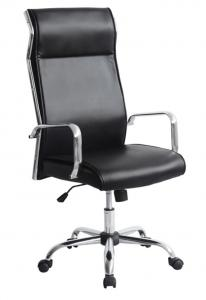 New Design Hot Selling Black PU High Back High Quality Office Chair