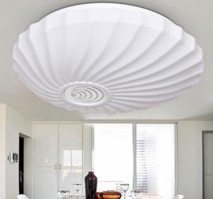 Living Room Light 355*110mm LED Crystal Ceiling Light Pendant Lights Classic Ceiling Pendant Light Round-2
