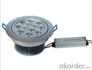 LED Downlight 12*1 W