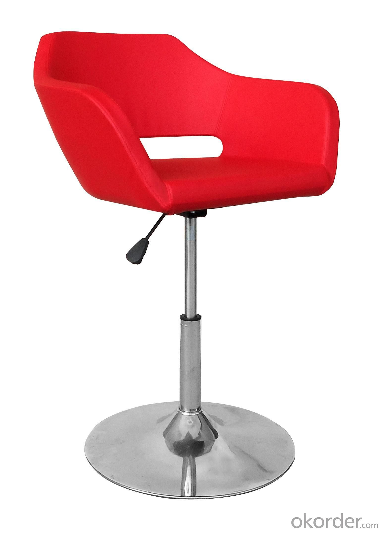 Hot Selling High Quality Comfortable Red PU Bar Stool