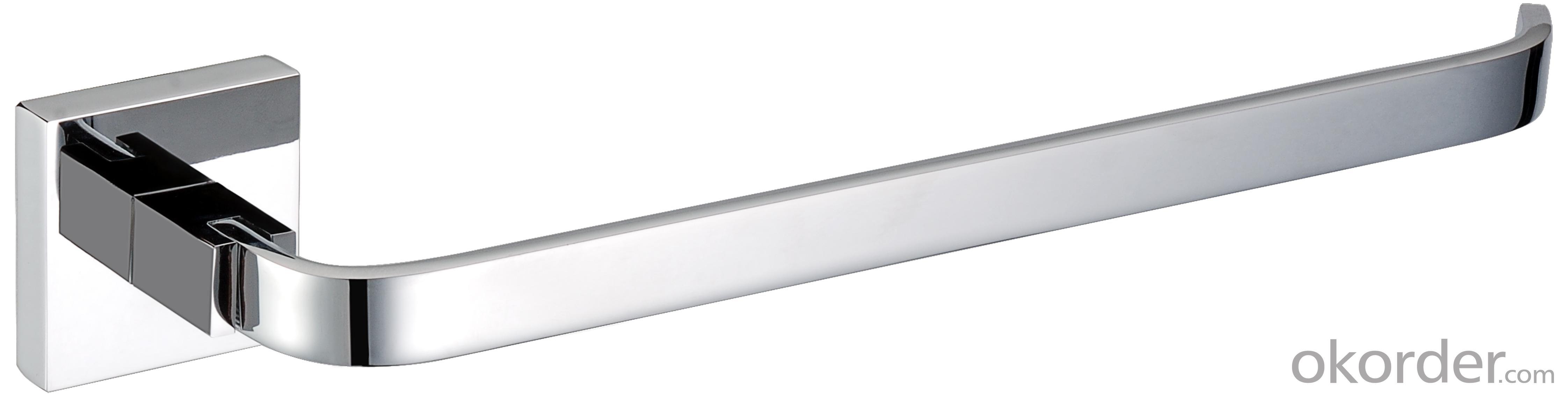 New Design Exquisite Decorative Bathroom Accessories Solid Brass Towel Ring