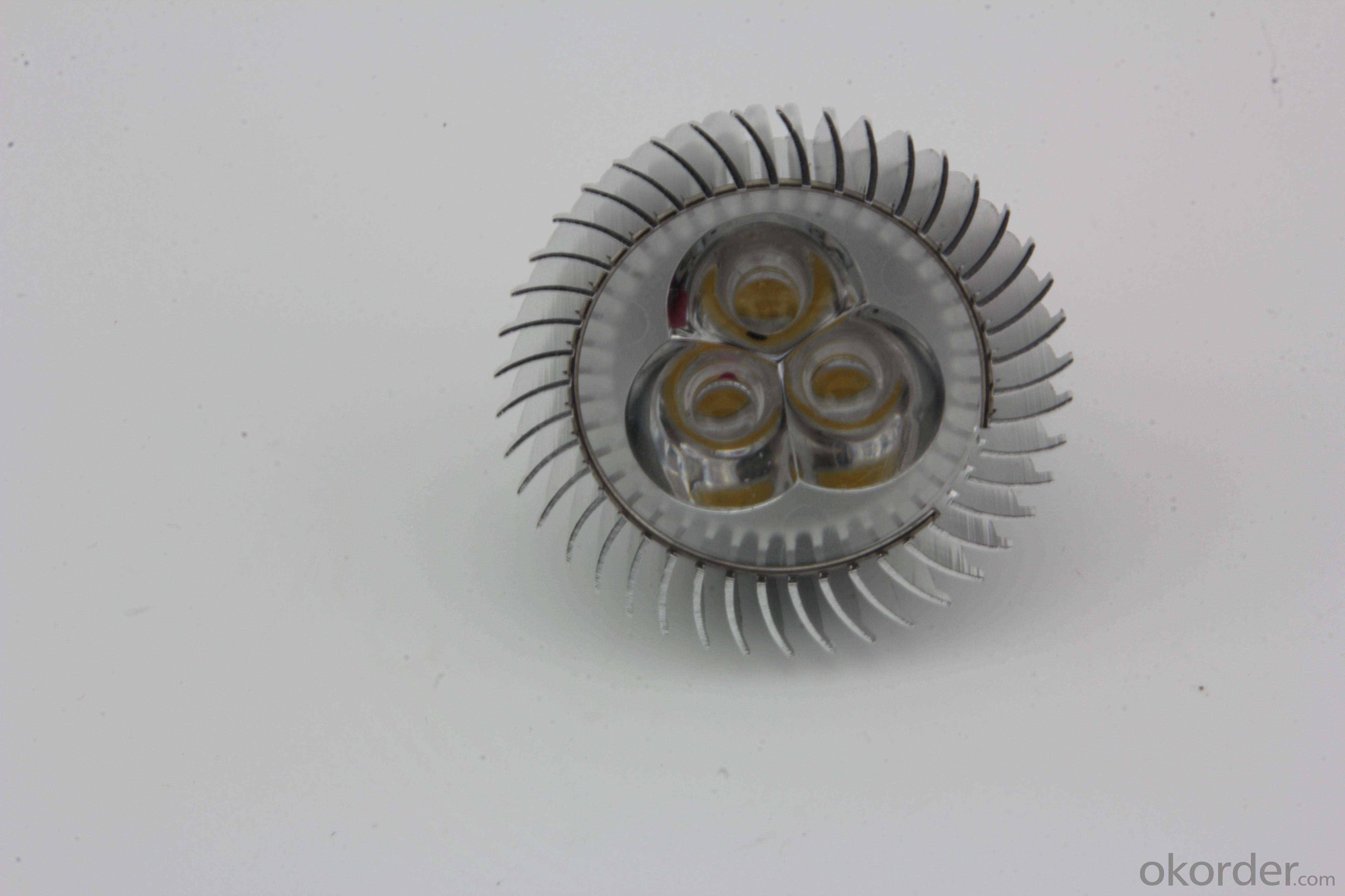 Dimmable LED 3W Spot Light E27 220V RGB