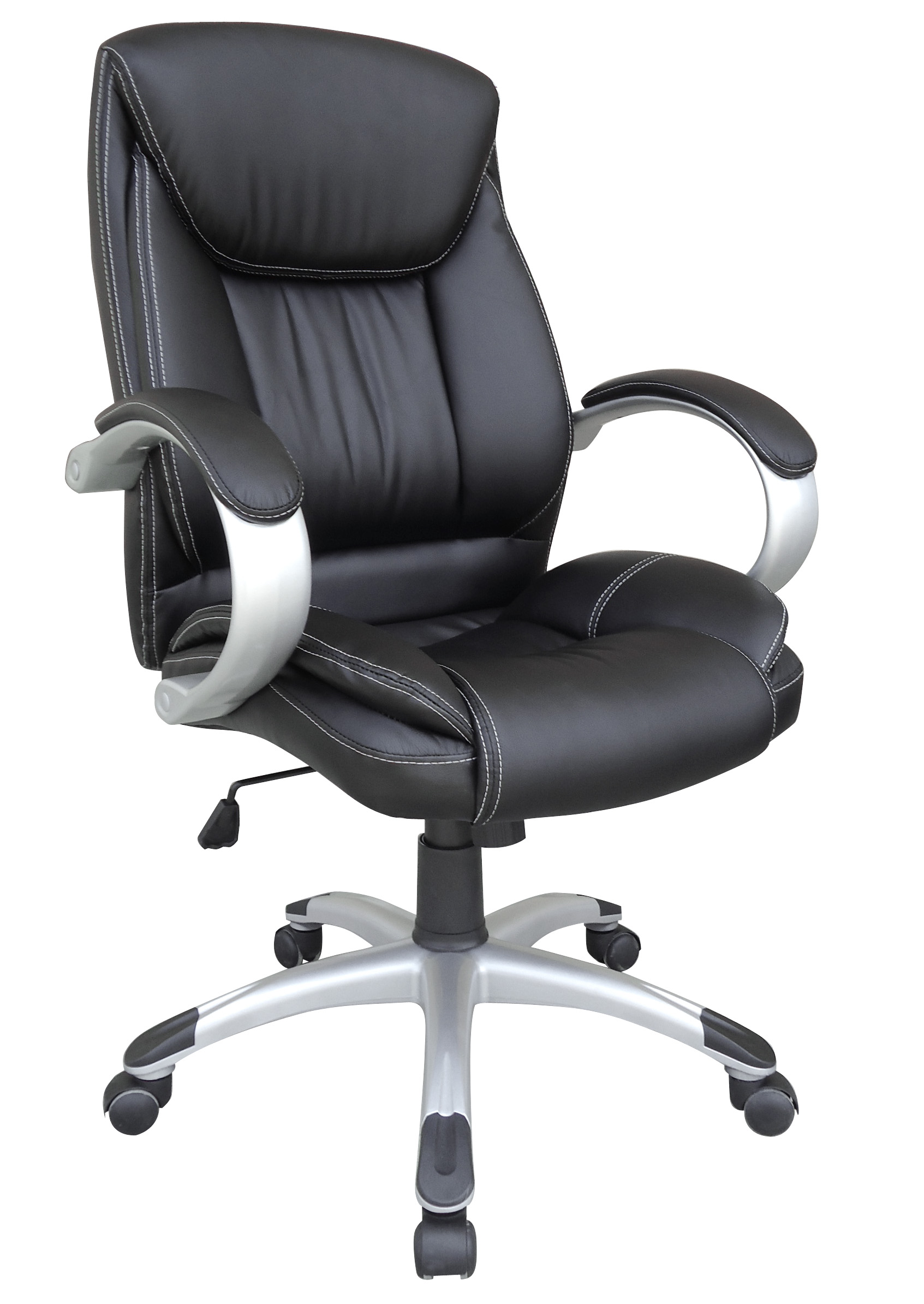 Model Style Hot Selling High Quality High Back Manager's Chair Coating Armrest With Soft Pad Office Chair