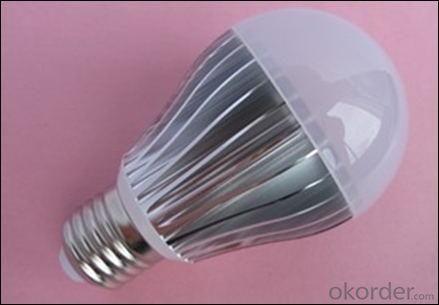 Newest 2 Years Warranty PC Cover LED Bulb Aluminum 6W E27