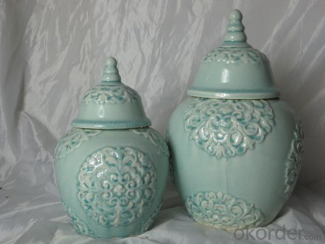 Hot Selling Fashion Home Décor Ceramic Antique Flower Vase L