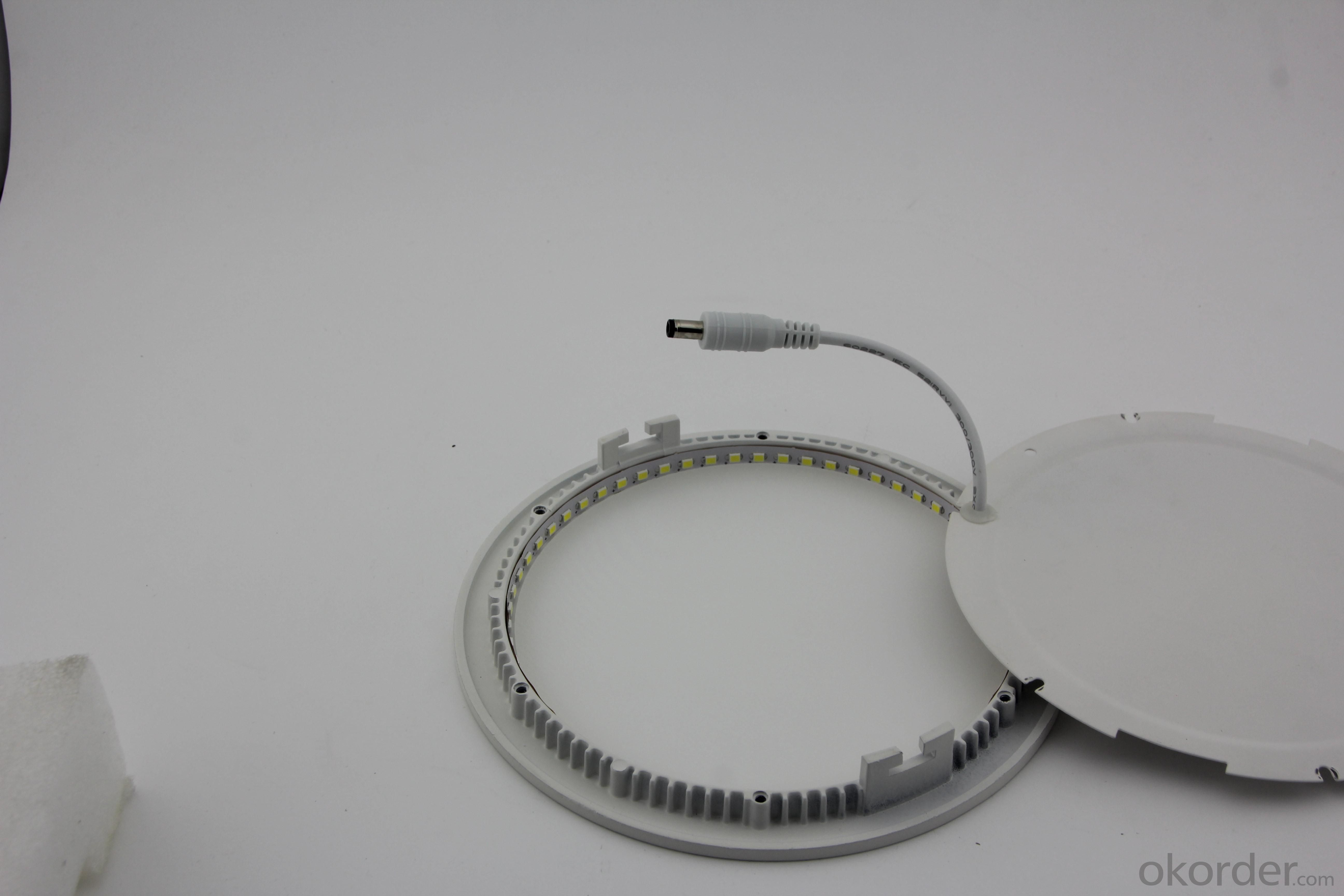Dimmable LED Panel Light Round SMD Chip 12W
