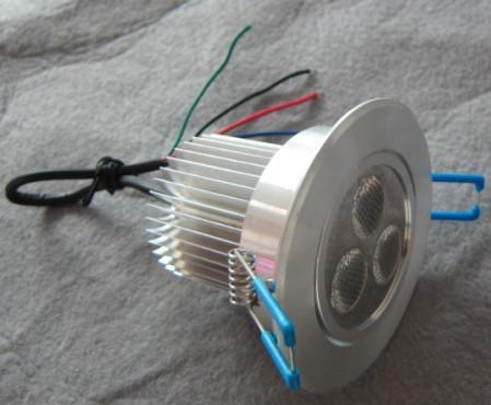 LED Downlight Adjustable RGB Low-voltage 3*3 W