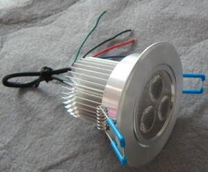 LED Downlight Adjustable RGB Low-voltage 3*3 W