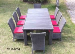 Classical Modern Leisure Rattan Outdoor Garden Furniture Table Set