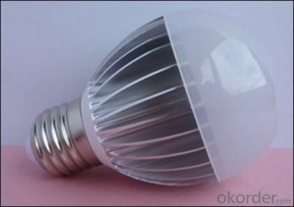 China Manufacture High Quality E27 Dimmable 5W LED Globe Bulb Warm Natural Cool White AC 85V-265V