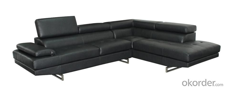 Hot Selling High Quality Comfortable PU On The Front Sofa