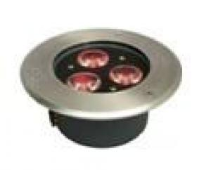 LED Underground Light Rpund RGB 3W