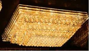 Crystal Ceiling Light Pendant Lights Classic Golden Ceiling Pendant Light 236PCS Light Ball 1200*800