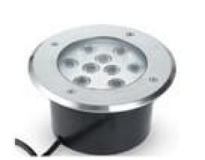LED Underground Light Rpund RGB 10W