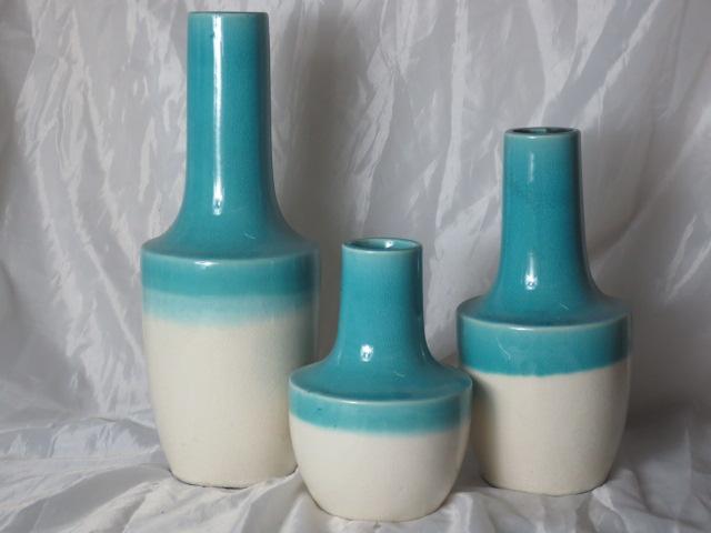 Hot Selling Fashion Home Décor Ceramic Refreshing Flower Vase M