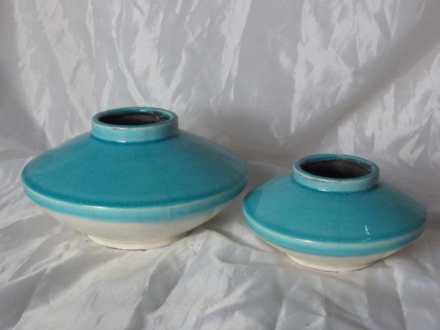 Hot Selling Fashion Home Decorative Ceramic Light Color Flower Vase S