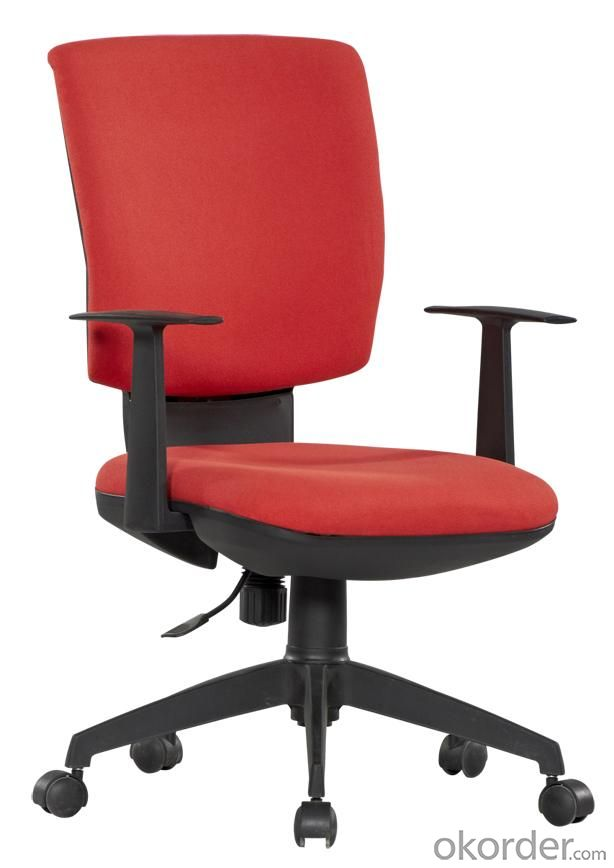 Classical Hot Selling High Quality Red Middle Back Office Chair
