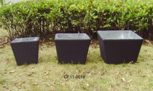 Rattan Modern Outdoor Garden Furniture Tea Table Set