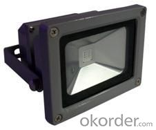 LED RGB Flood Light COB IR Inner Controller High Brightness IP 65 10W