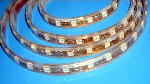 LED Strip Light Flexible strip light/ SMD5050 30LEDs/m ALL Colors/RGB/ Dimmable/Waterproof IP68