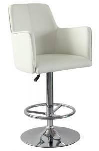 Hot Selling High Quality Comfortable White PU  Bar Stool