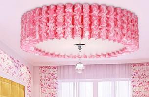 Living Room Light PVC Ceiling Lamp D500mm Ceiling Light Pendant Lights Energy-Saving Lamp Type-4