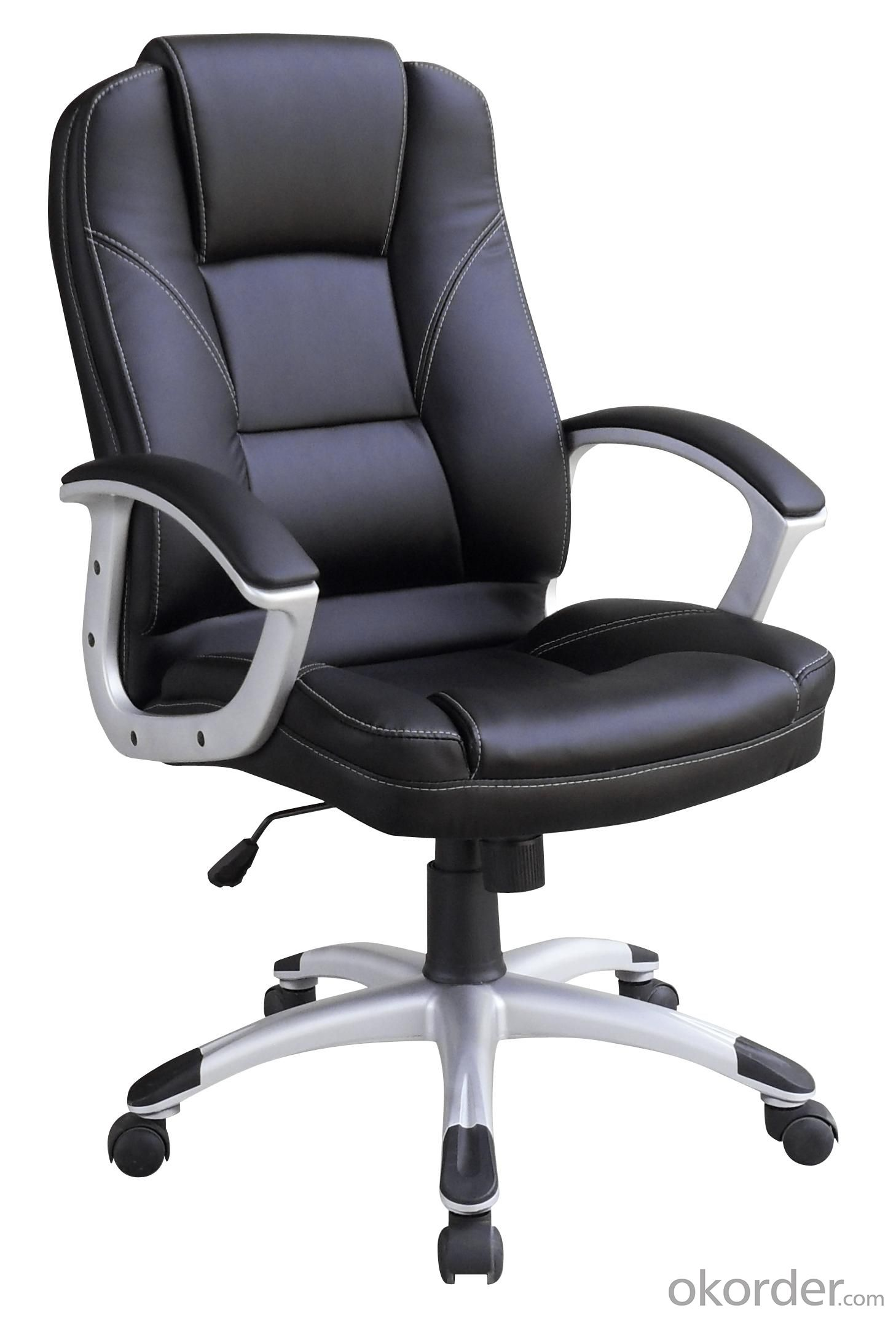 New Design Hot Selling Black PU Front High Quality Office Chair