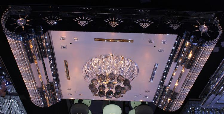 Crystal Ceiling Light Pendant Lights Classic Golden Ceiling Pendant Light 1100*800 High Brightness