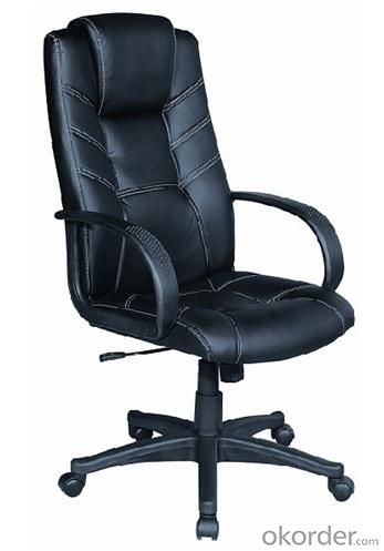 Modern style PU Office Chair/320mm Nylon Base/Butterfly tilt/Office Furniture