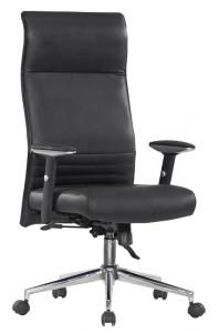Classical Hot Selling High Quality High Back Manager's Black buffalo split leather Front Office Chair