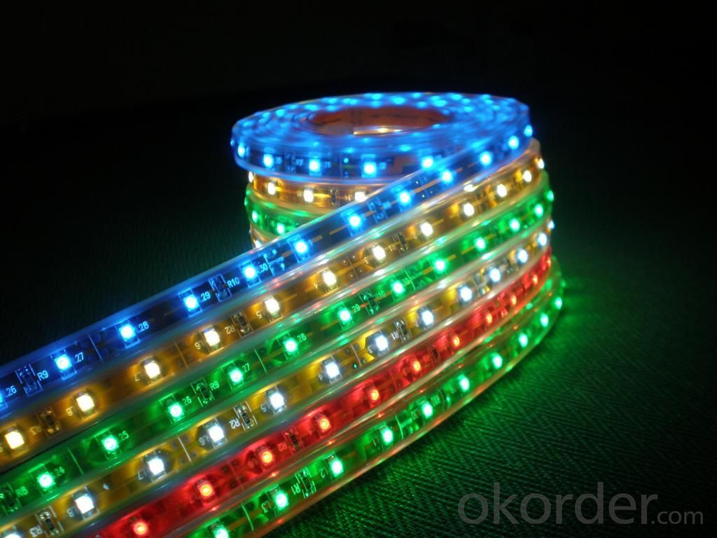 LED Strip Light Flexible strip light/ SMD3528 60LEDs/m ALL Colors/RGB/ Dimmable/Non-Waterproof IP68
