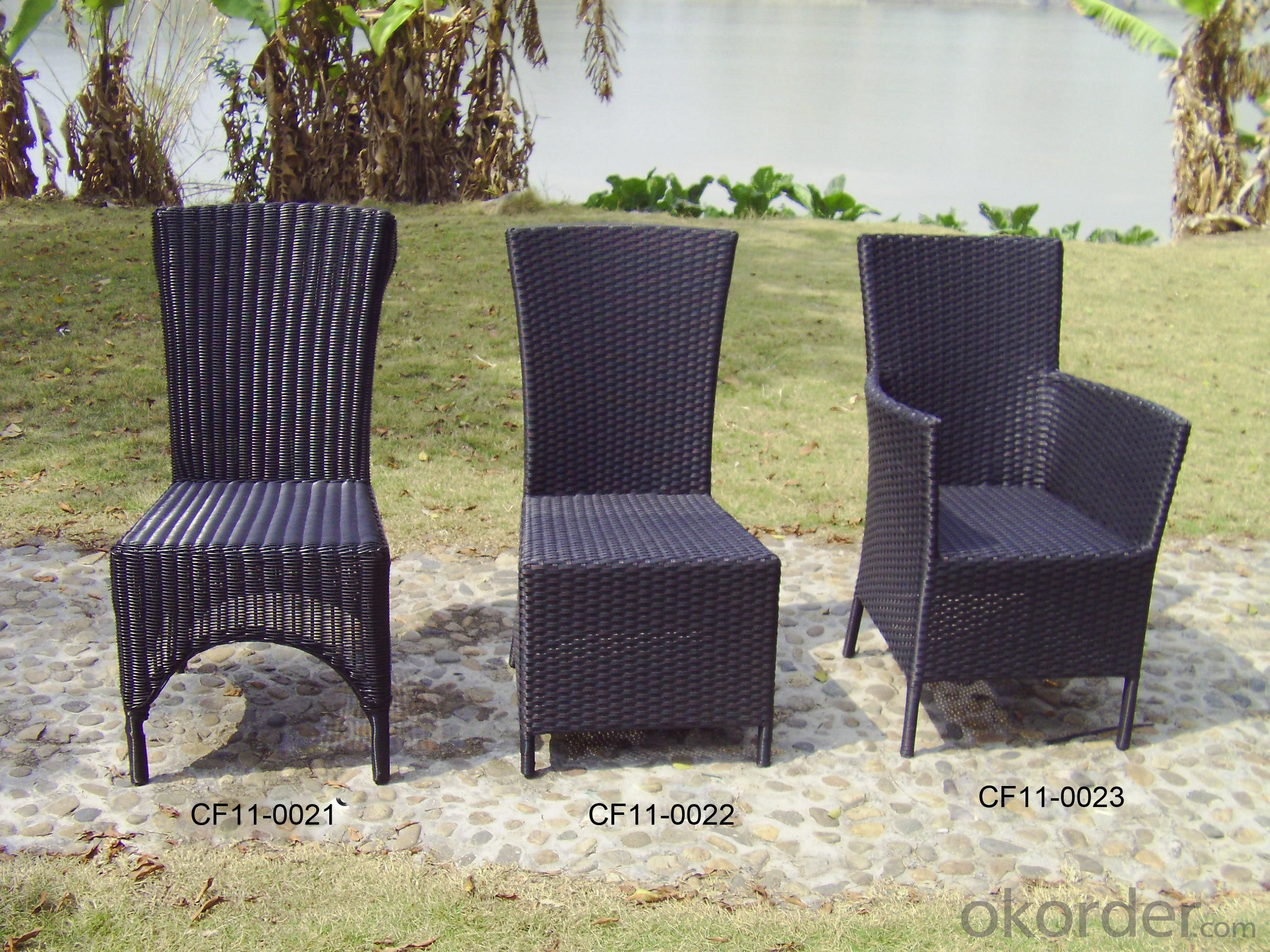 Rattan Simple Comfortable Modern Outdoor Garden Furniture Chair