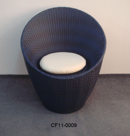Rattan Outdoor Garden Furniture Single Chair
