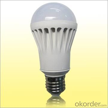 China Manufacturer Quality 5W 85-264V SMD LED Globe Bulb White Plastic Cover Warm Pure Cool White 2 Year Warranty