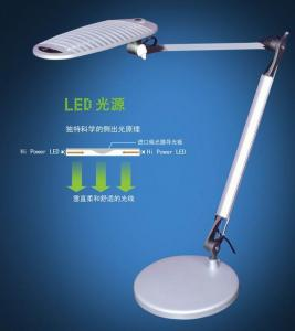 LED Dimmable Table Lamp Two Branches Round Lamp 3W/6W/12W